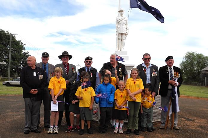 Push To The Bush for ANZAC  Day